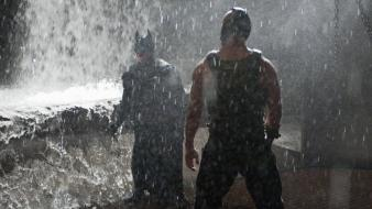 Water batman bane the dark knight rises Wallpaper