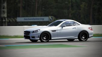 360 forza motorsport 4 mercedes slk55 amg wallpaper
