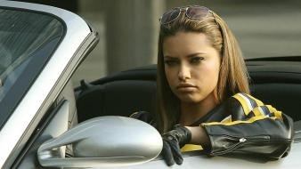 Adriana Lima Car wallpaper