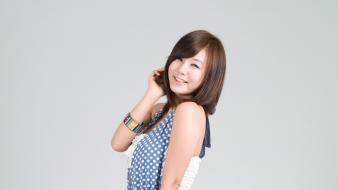 Asians korean polka dots ryu ji hye wallpaper