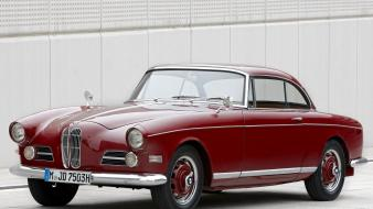 Bmw old classic coupe 1956 wallpaper