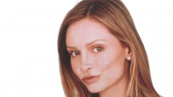 Calista Flockhart Face wallpaper