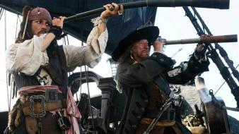 Captain jack sparrow gregory peck hector barbossa Wallpaper