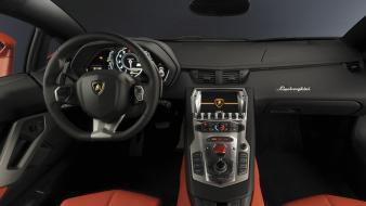 Car interiors aventador wallpaper