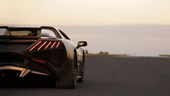 Cars polish arrinera rear view taillights wallpaper