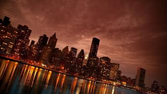 Cityscapes buildings new york city Wallpaper