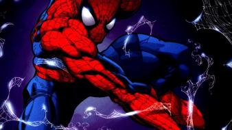 Comics spider-man superheroes marvel peter parker comic books Wallpaper