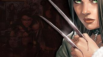 Comics x-men superheroes marvel x-23 laura kinney wallpaper