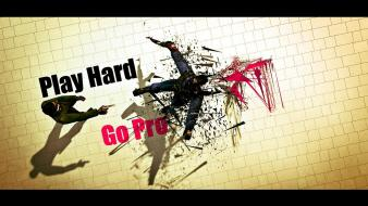 Counter-strike go pro play hard wallpaper
