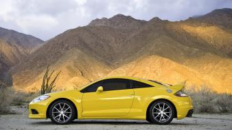 Eclipse Gt Side Yellow wallpaper
