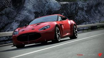 Forza motorsport 4 aston martin v12 zagato wallpaper