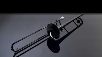 Instruments jazz trombone Wallpaper