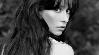 Jennifer Love Hewitt Grayscale wallpaper