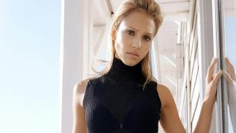 Jessica Alba Black wallpaper
