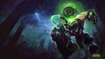 League of legends singed augmented wallpaper