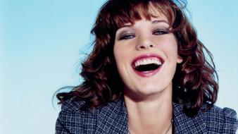 Milla Jovovich Laugh wallpaper