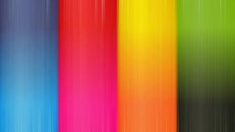 Multicolor pink orange patterns textures rainbows stripes wallpaper