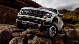 Raptor ford trucks svt f150 off-road wallpaper