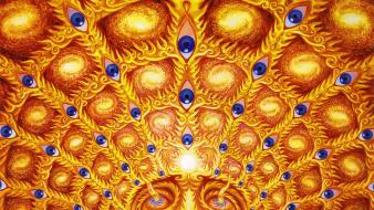 Trippy alex grey wallpaper