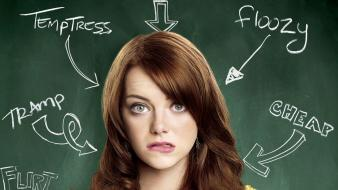 Women celebrity emma stone easy a wallpaper