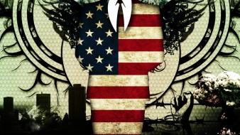 American anonymous flags artwork flag redneck wallpaper