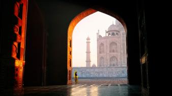 Architecture buildings national geographic taj mahal sunlight india wallpaper