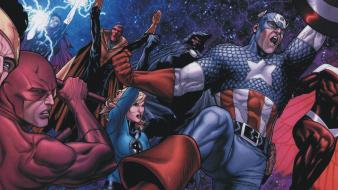 Captain america superheroes marvel comics Wallpaper