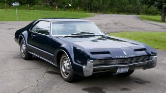 Cars 1966 oldsmobile toronado wallpaper