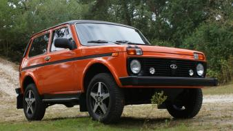 Cars lada 2121 niva russian wallpaper