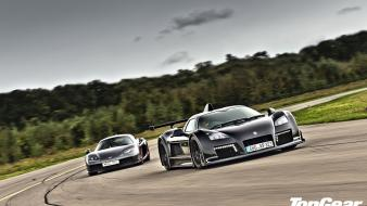 Cars top gear gumpert apollo noble m600 Wallpaper