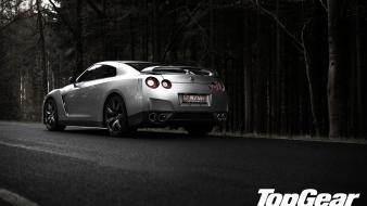 Cars top gear nissan gt-r r35 wallpaper