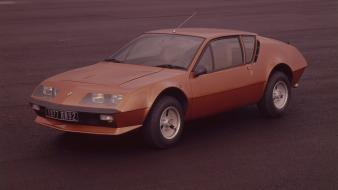 Cars vehicles alpine (cars) renault a310 1976 wallpaper