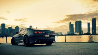 Cars vehicles transports wheels chevrolet camaro zl1 speed Wallpaper
