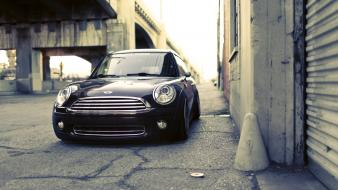 Cars vehicles transports wheels mini cooper s speed wallpaper