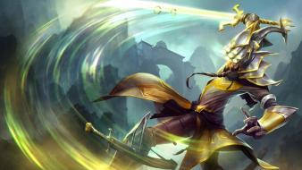 Champions swords online riot moba swordsman game wallpaper