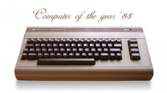 Computers retro digital art c64 1983 Wallpaper