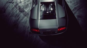 Dark night cars lamborghini murcielago lp640 Wallpaper