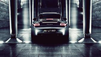 Dark night cars porsche 911 turbo s wallpaper