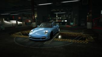 Glacier porsche 911 world turbo garage nfs wallpaper