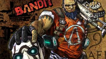 Guns borderlands 2 gunzerker bandit salvador wallpaper
