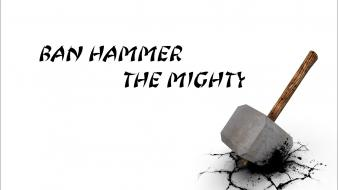 Hammer simple background white wallpaper