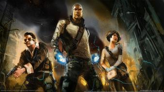 Infamous cole macgrath zeke dumbar trish dailey wallpaper