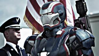 Iron man patriot widescreen 3 wallpaper