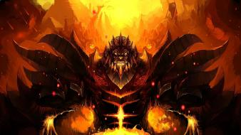 King burning crusade cataclysm mists pandaria game wallpaper
