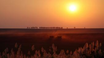 Landscapes nature sun fields brazil national geographic farmland Wallpaper