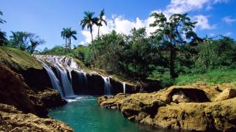 Landscapes waterfalls rivers wallpaper