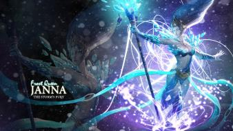 League of legends janna the storms fury wallpaper