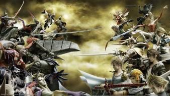 Leonhart tidus cloud strife jecht zidane tribal wallpaper