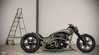 Motorcycles choppers Wallpaper