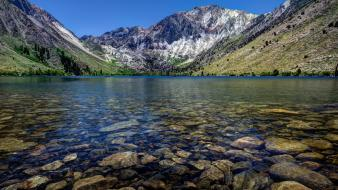 Nature rocks usa california lakes convict lake wallpaper